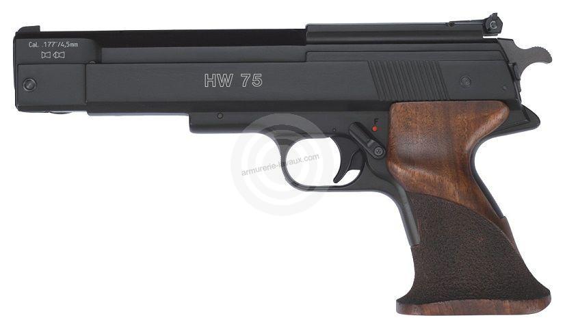 Pistolet à plombs WEIHRAUCH HW 75 Match