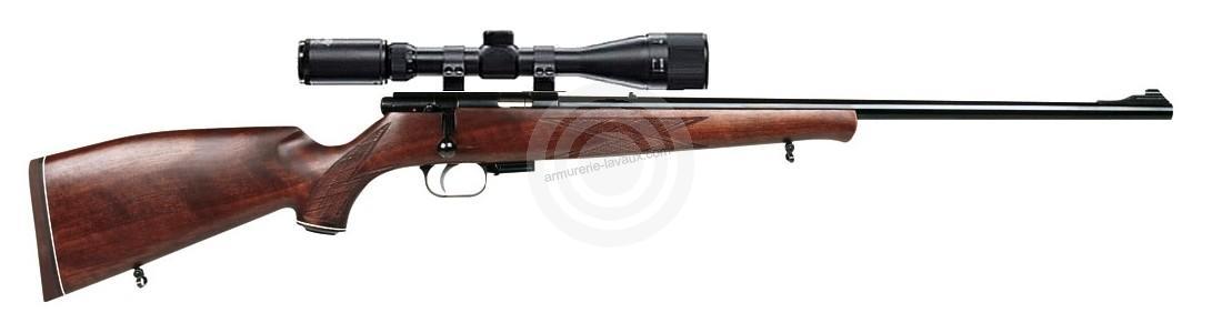 Carabine 22LR WEIHRAUCH HW 60 J avec lunette HAWKE Varmint 4-16x44 Mildot