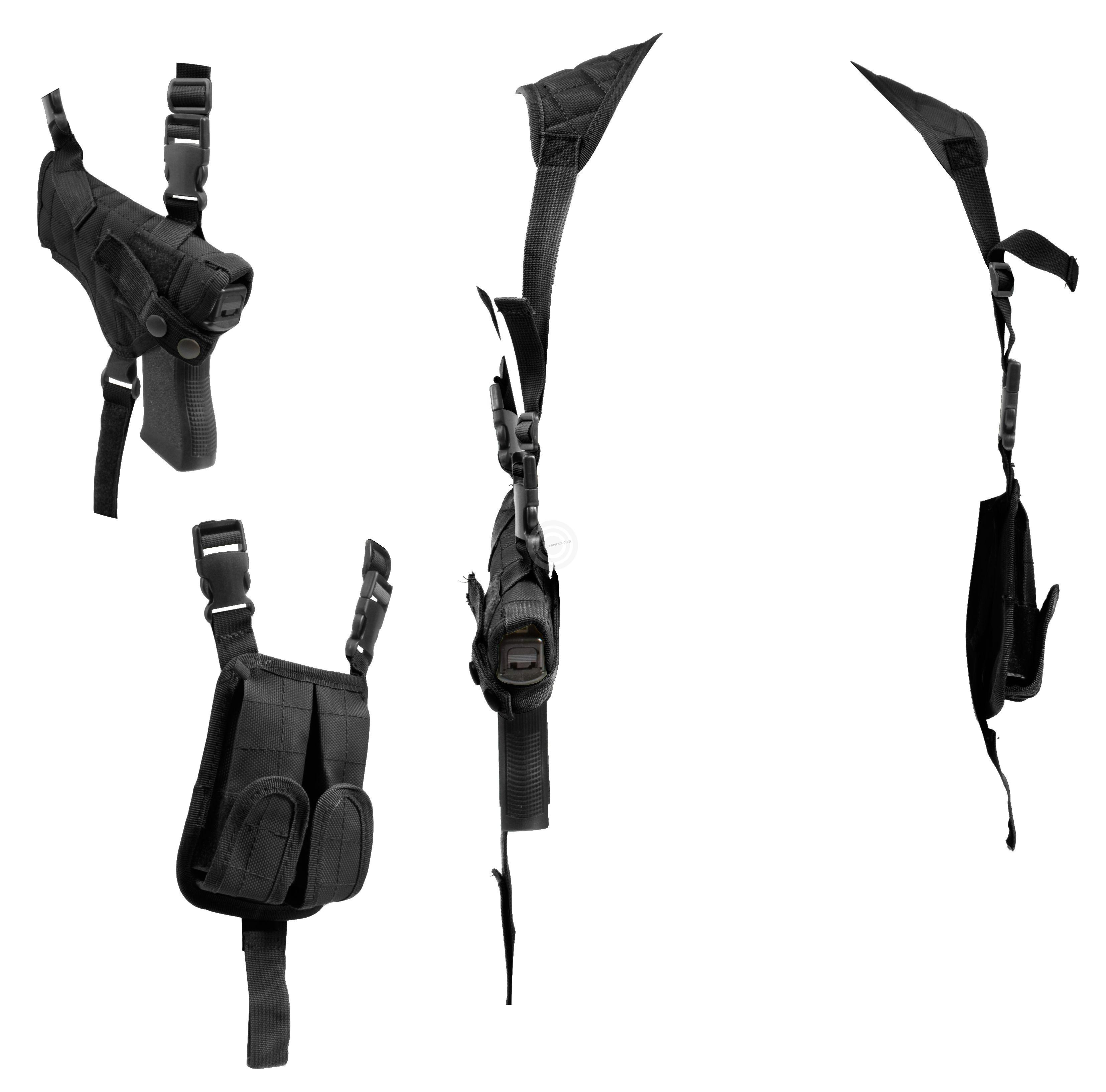 Holster d'épaule UTG pour pistolet avec porte chargeur