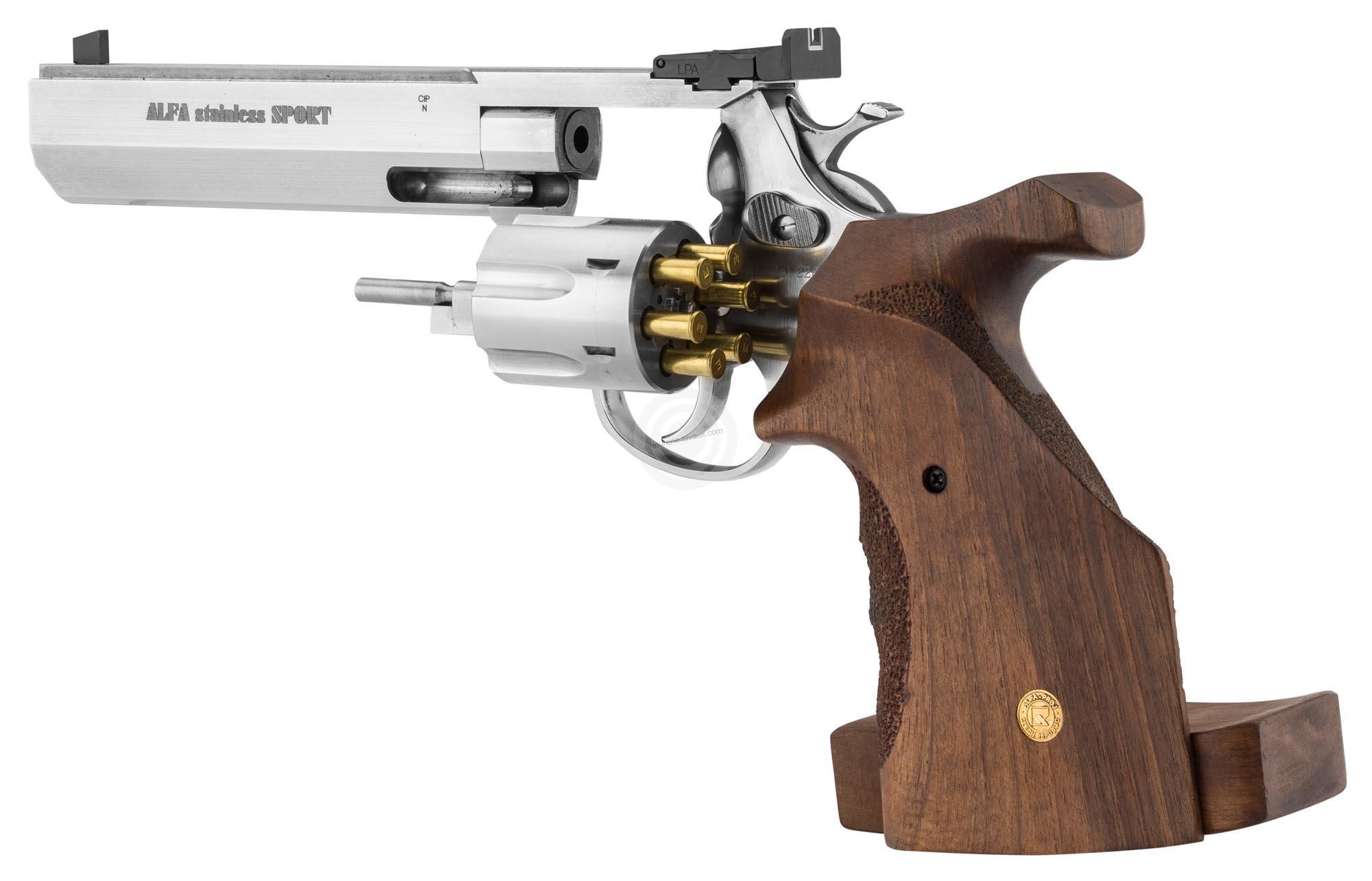 revolver alfa proj sport 6 u0026 39  u0026 39  inox cal 22 lr