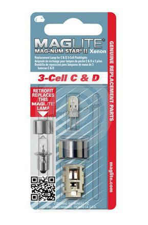 Ampoules MAG-LITE pour ML 3 Mag-Num STAR II Xenon