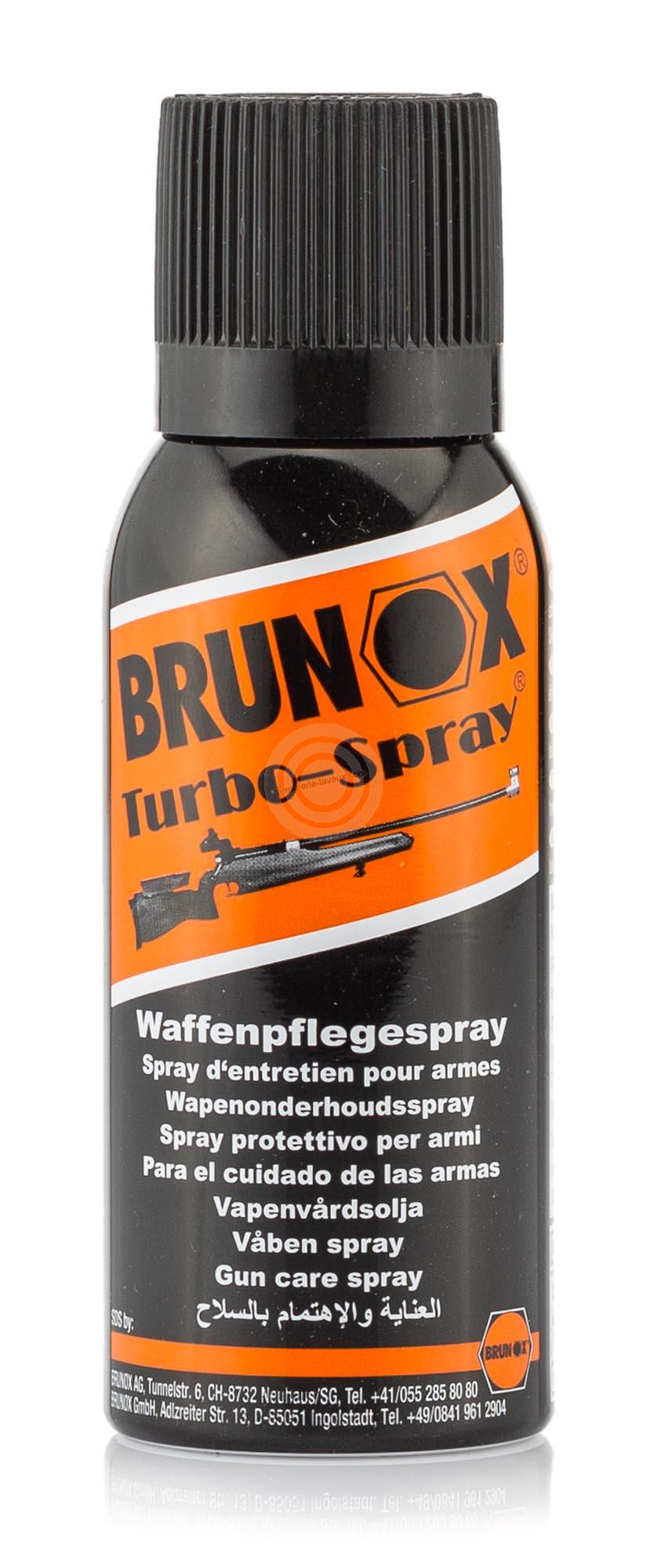 Bombe d'huile BRUNOX Turbo Spray 120ml