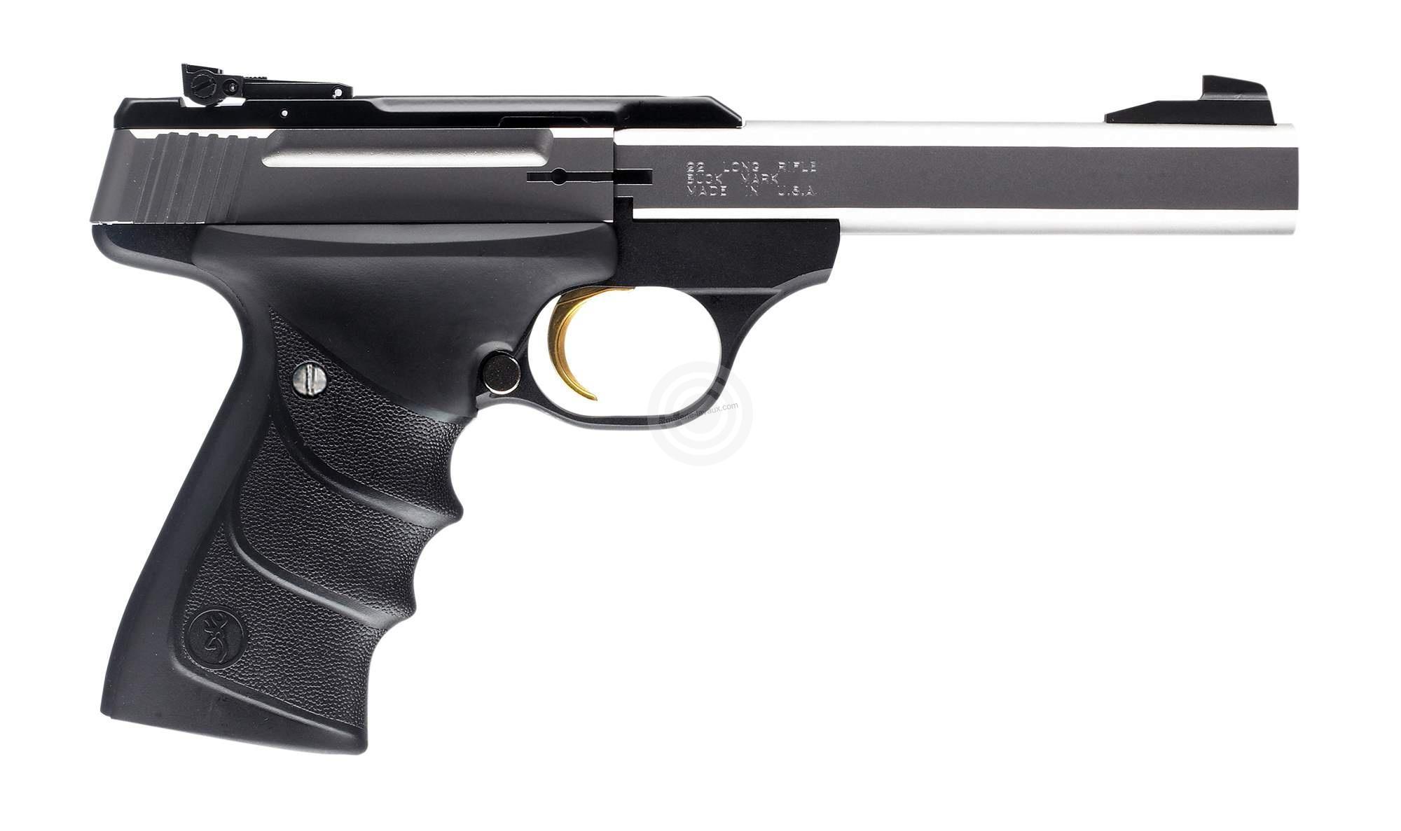 Pistolet BROWNING Buck Mark Standard Stainless URX calibre 22Lr