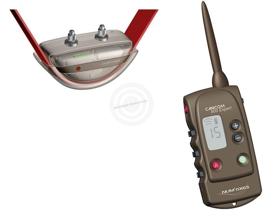 Collier de dressage Canicom 800 Expert NUM'AXES