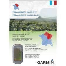 Carte topographique GARMIN Astro 320 NORD EST