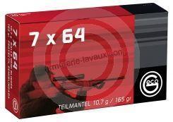 GECO 7x64 1/2 Blindée 10,7 gr