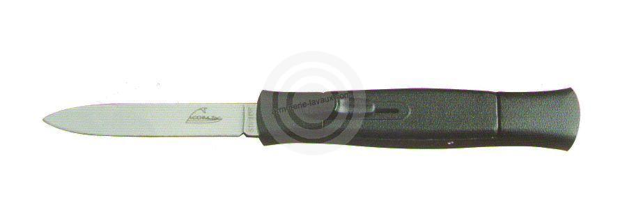 Couteau Automatique Noir 10.5 cm