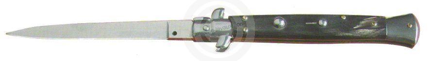 Couteau Automatique 9,5 cm corne