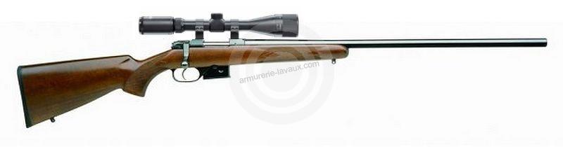 Carabine CZ 527 Varmint cal.222 Rem avec lunette HAWKE Varmint 6-24x44
