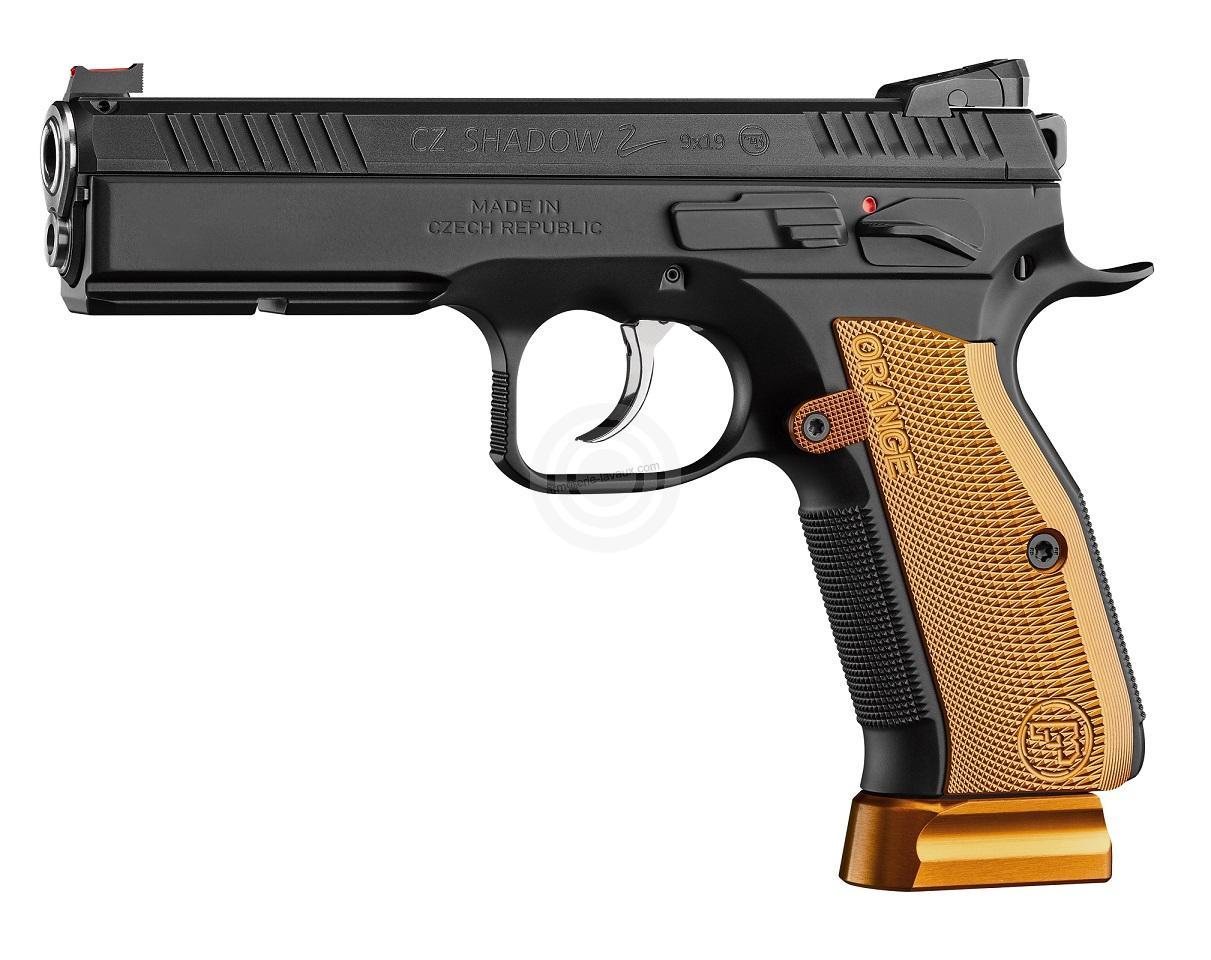 Pistolet CZ 75 Shadow 2 Orange calibre 9x19
