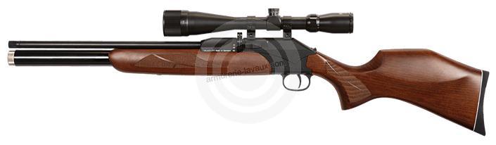 Carabine PCP DIANA P1000 avec lunette LYNX Varmint 6-24x42 AO cal.4,5mm (10 à 40 joules)