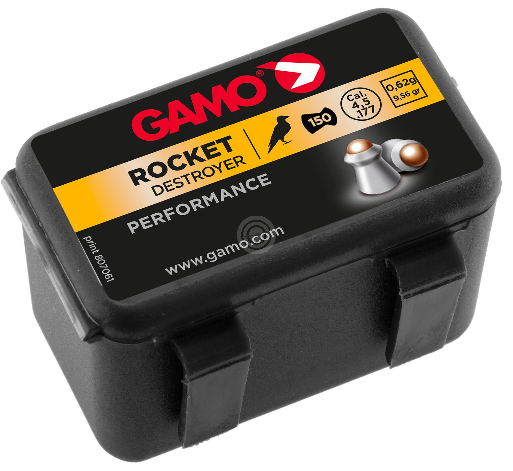 Plombs 4.5 Gamo ROCKET