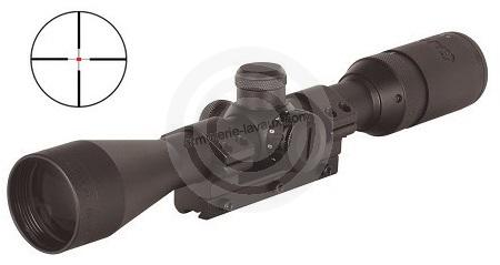 Lunette GAMO 3-9x40 IR W1PM (réticule lumineux)