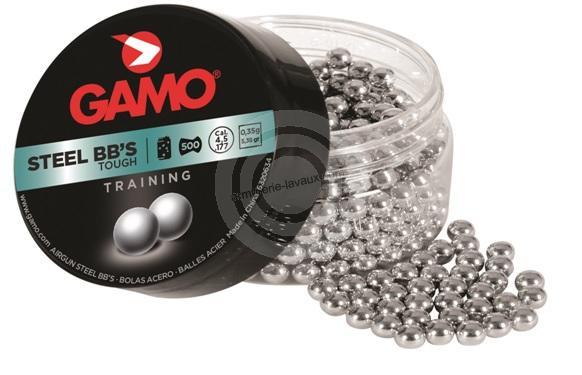 Plombs billes 4.5 BB'S Steel GAMO