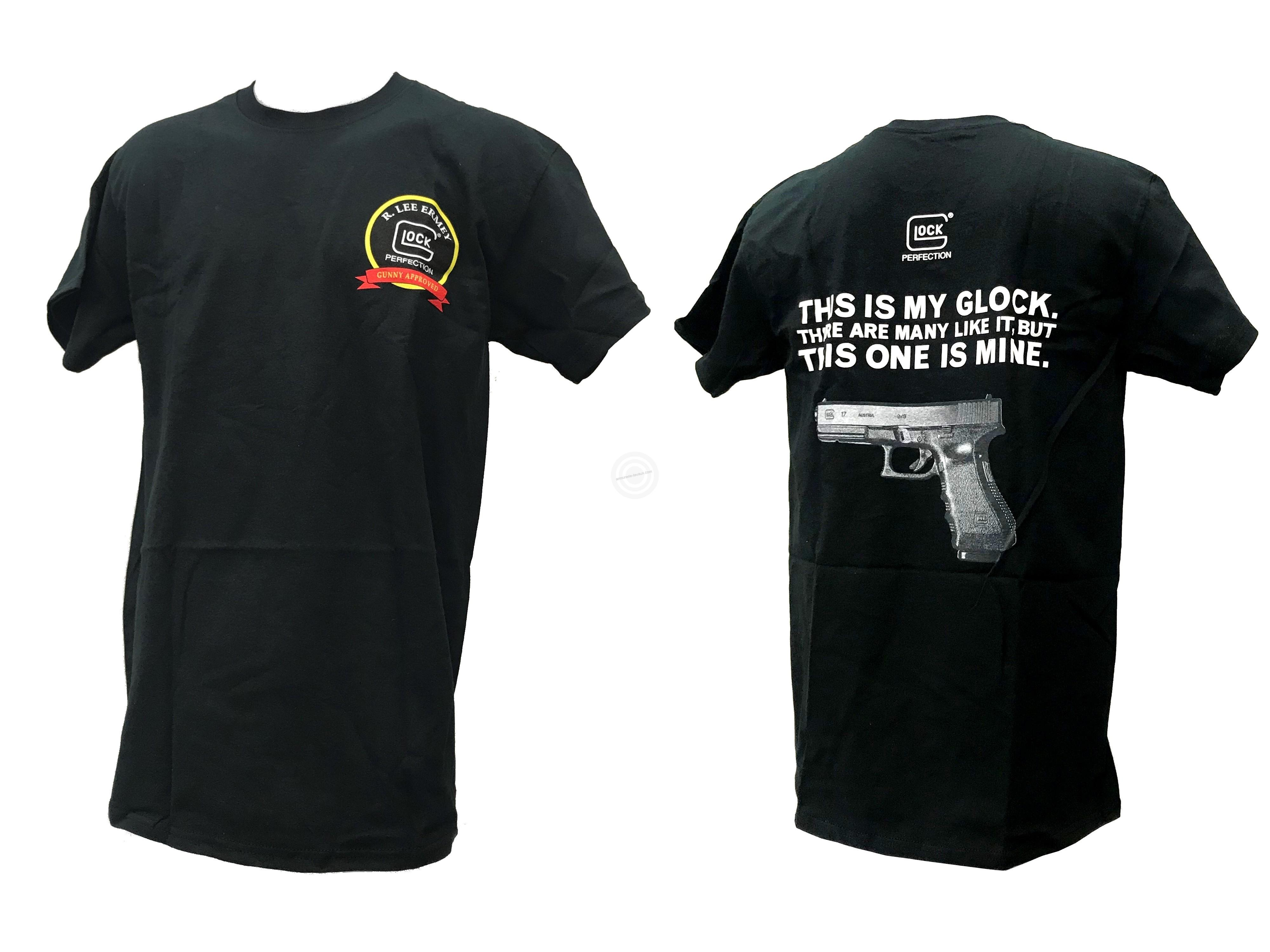 T-shirt GLOCK My Glock Taille.L