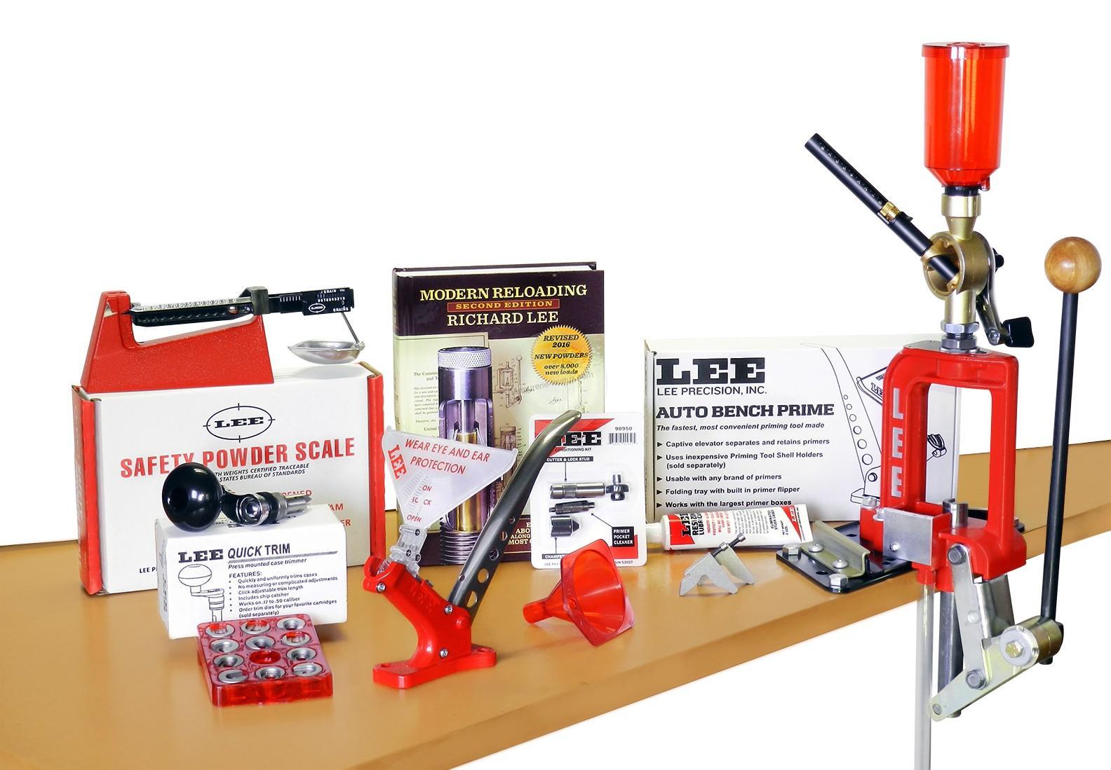 kit presse de rechargement lee deluxe challenger kit rechargement sur armurerie lavaux. Black Bedroom Furniture Sets. Home Design Ideas