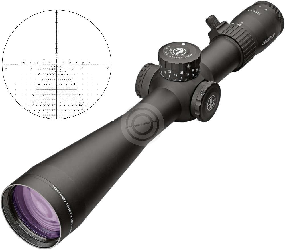 Lunette LEUPOLD MARK 5HD 5-25x56 rét.TREMOR 3