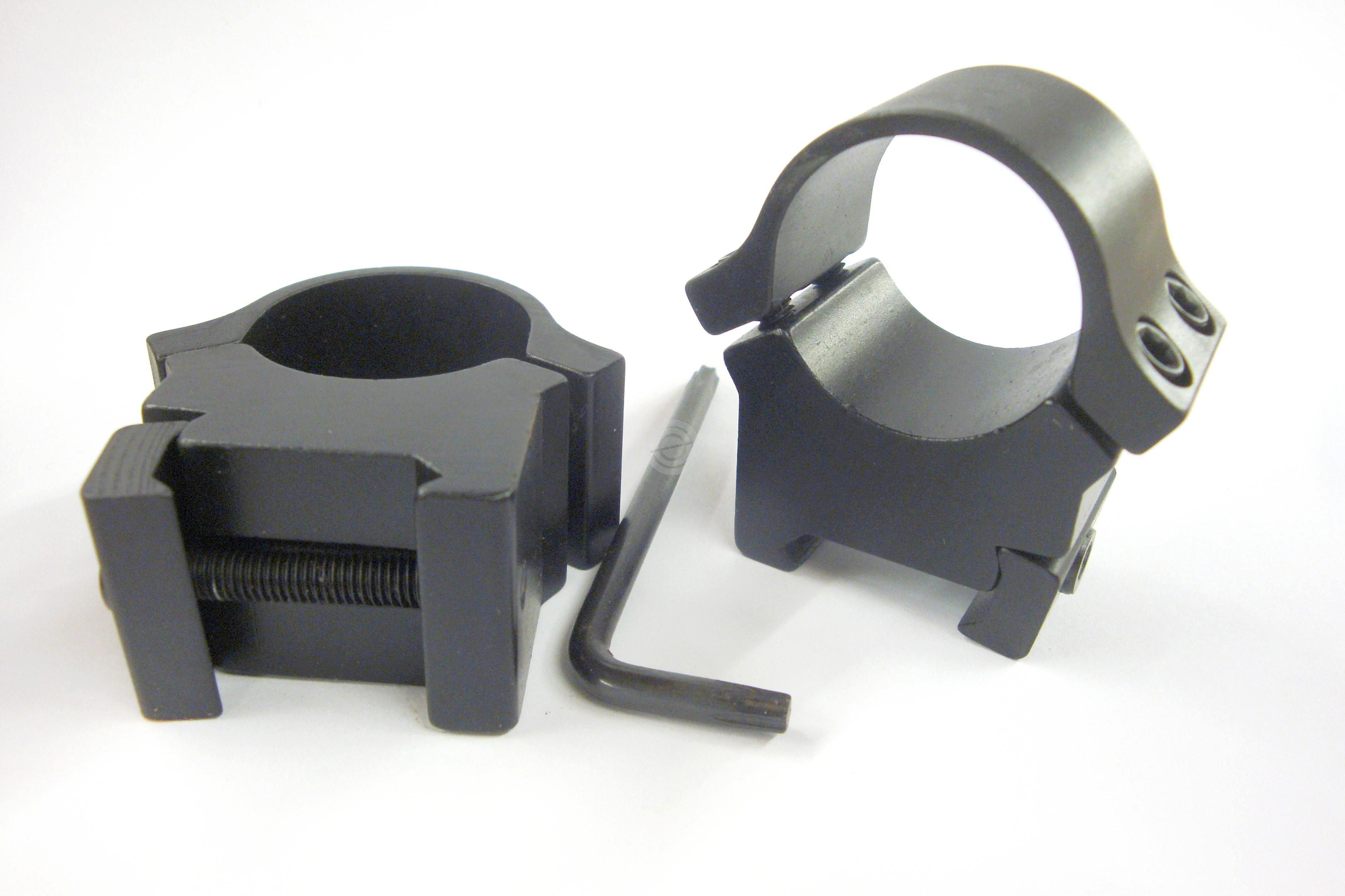 Montage Medium FUZYON diamètre 25.4mm - Rail de 21mm BH 13