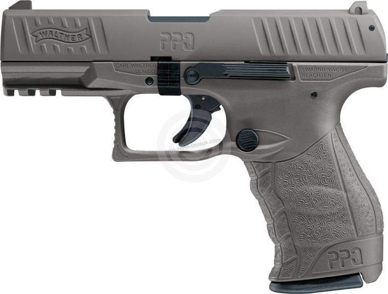 Pistolet d'alarme WALTHER PPQ M2 FDE cal.9mm PA UMAREX