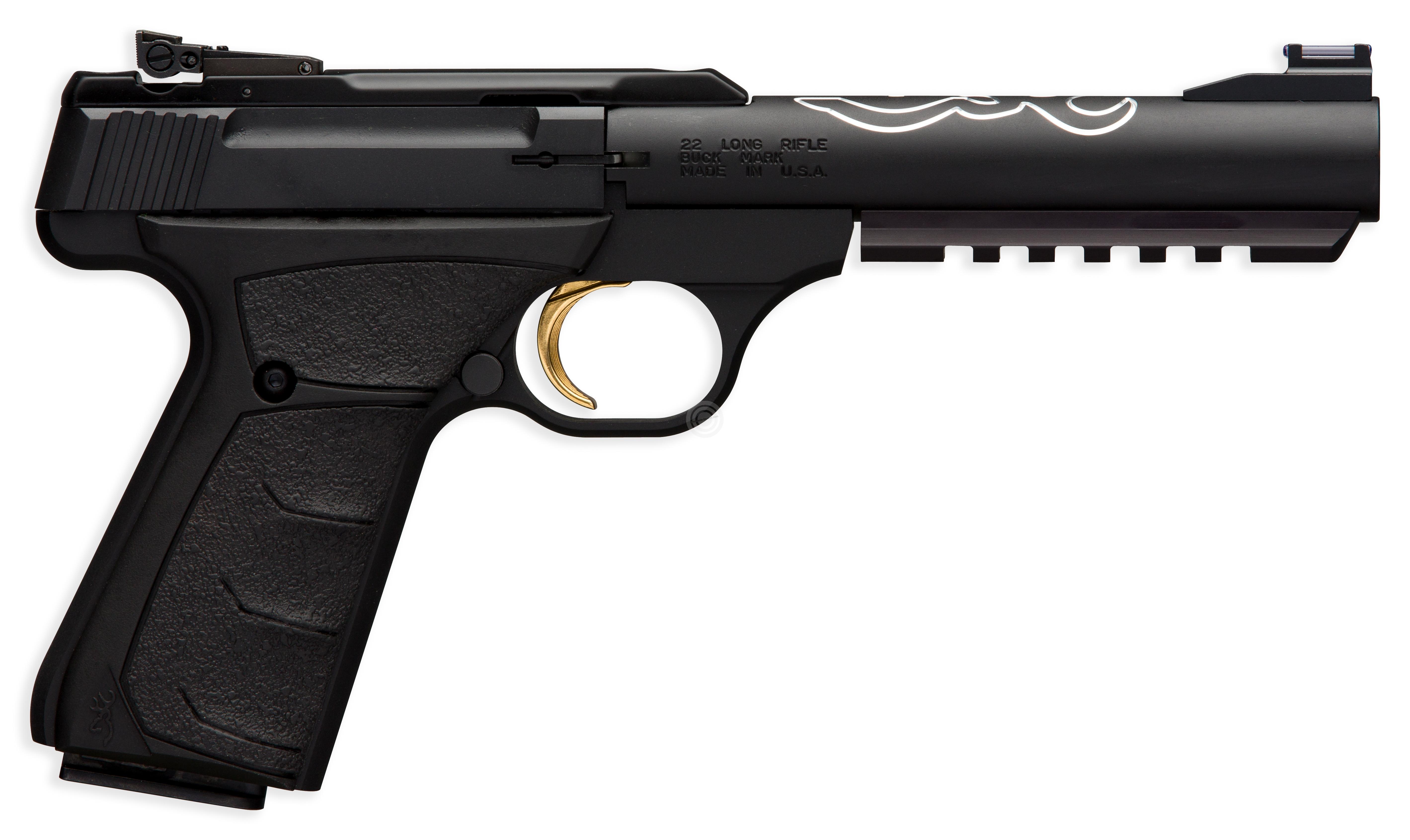 Pistolet BROWNING Buck Mark Black Lite UFX calibre 22Lr