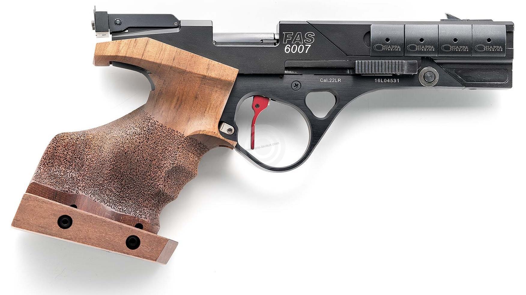 Pistolet de compétition CHIAPPA FAS 6007 cal.22 lr