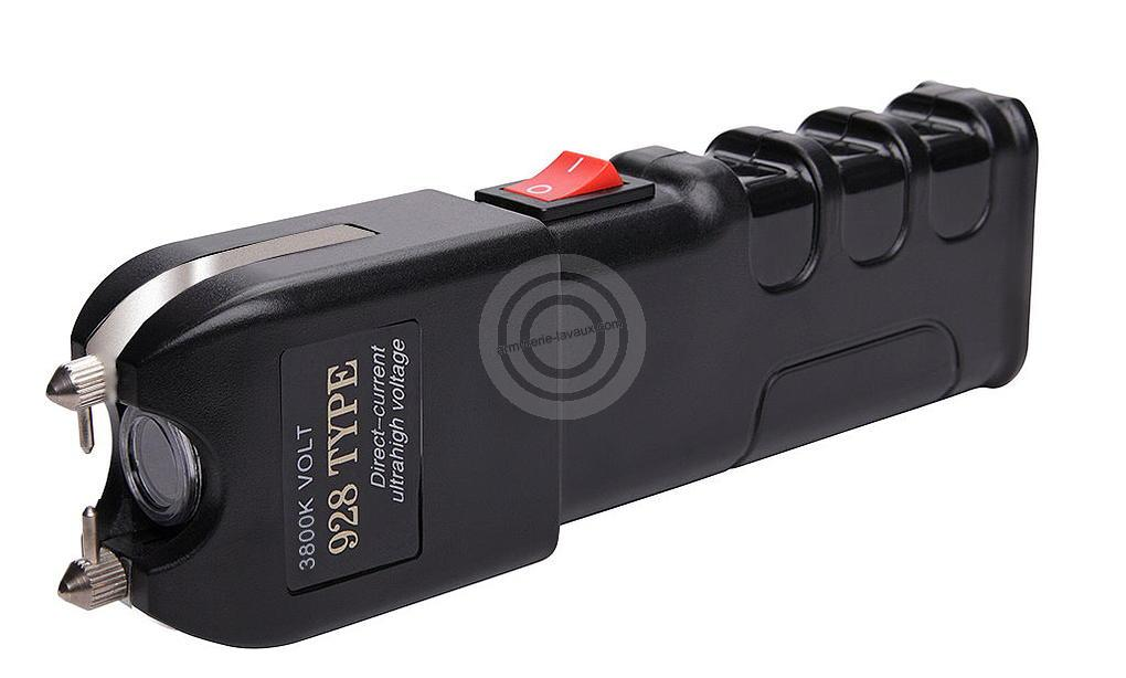 Poing electrique Scorpion H-PROTECK rechargeable 3 800 000 Volts