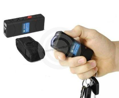 Poing electrique mini Key H-Proteck rechargeable 2 000 000 Volts