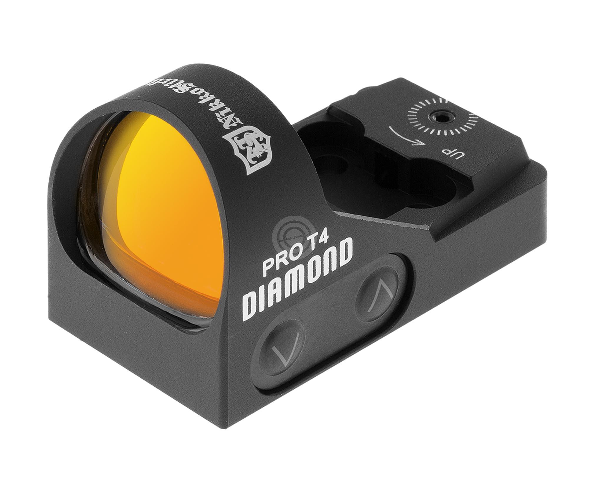 Viseur point rouge NIKKO STIRLING PRO T4 Diamond avec montage Weaver 21mm