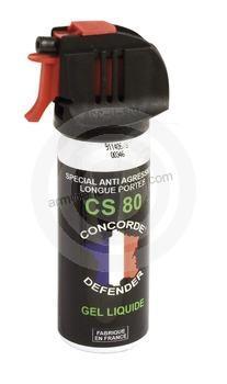 Bombe lacrymogène  GEL CS 80 - 50 ml