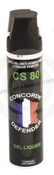 Bombe lacrymogène  GEL CS 80 - 75ml