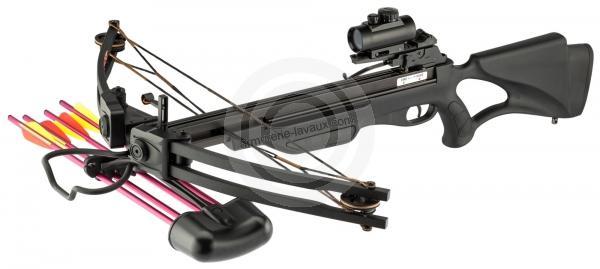 12 Traits en aluminium 6,5 Shoot again pour pistolet arbabèle