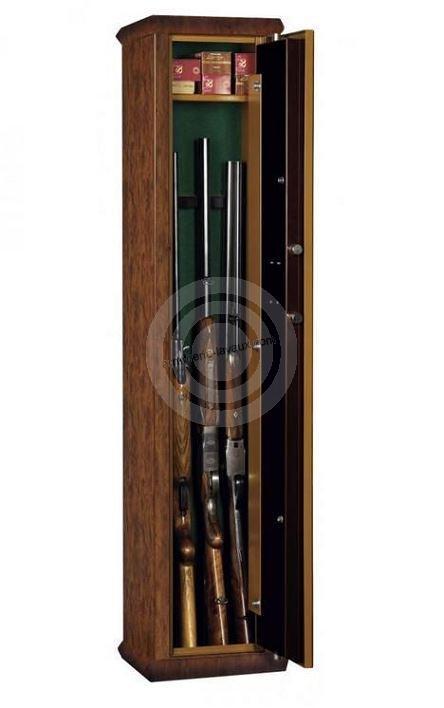 coffre pour armes kl5 noyer coffres forts armes sur. Black Bedroom Furniture Sets. Home Design Ideas